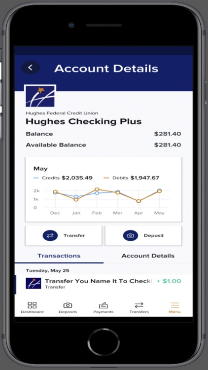 Hughes Mobile Banking