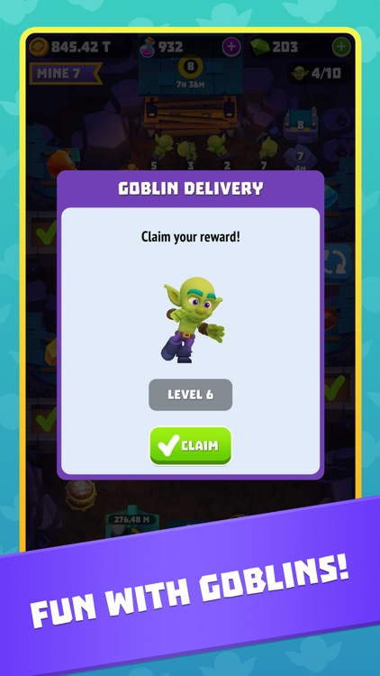 Gold and Goblins: Idle Merger screenshot-7