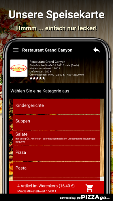 Restaurant Grand Canyon Halle screenshot 4