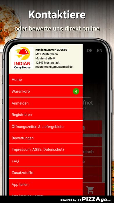 Indian Curry House Mülheim screenshot 3