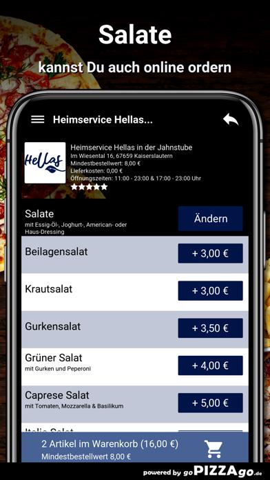 Hellas Kaiserslautern screenshot 5