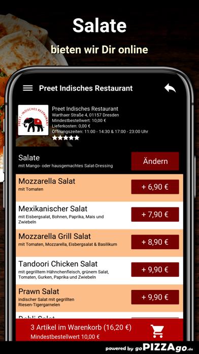 Preet Indisches Restaurant Dre screenshot 5