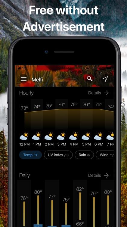Weather & Widget - Weawow screenshot-3