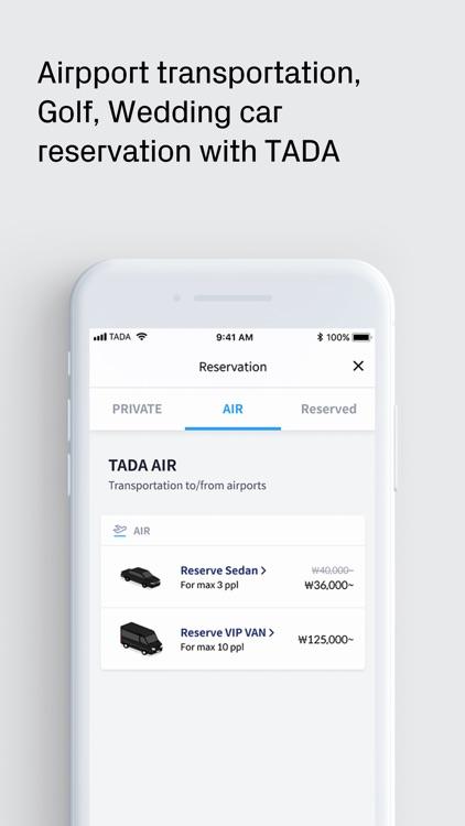 TADA - Quality Ride for All screenshot-6