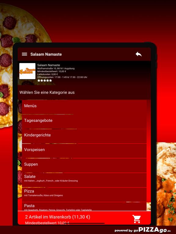 Salaam Namaste Augsburg screenshot 8