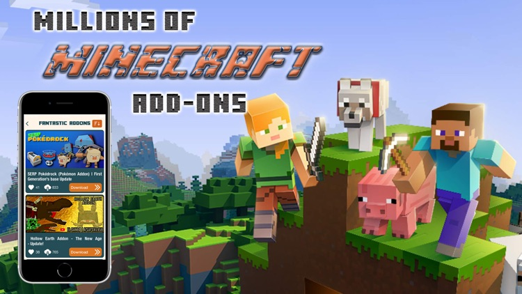 Addons for Minecraft PE + MCPE