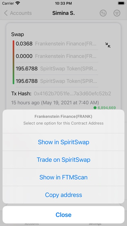 Fantom Blockchain Explorer screenshot-7