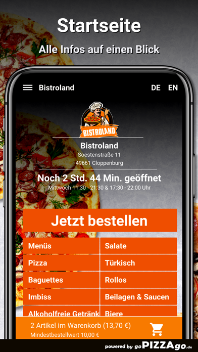 Bistroland Cloppenburg screenshot 2