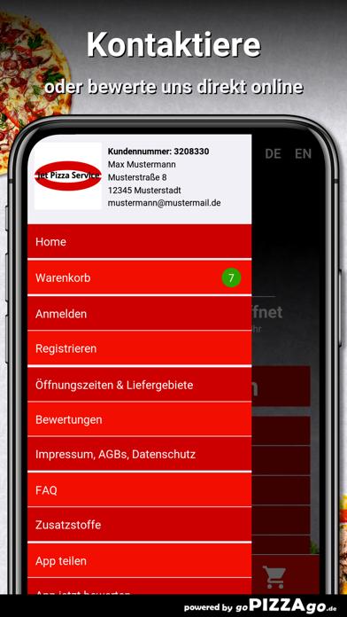 Jet Pizza Service Hohndorf screenshot 3
