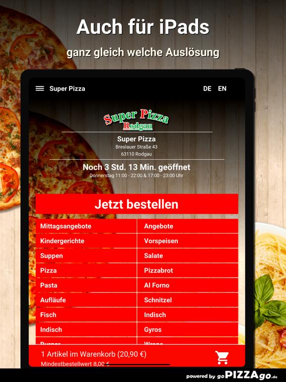 Super-Pizza Rodgau screenshot 7