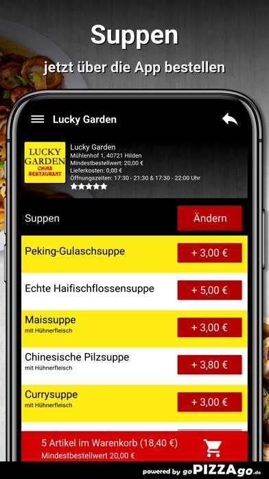 Lucky Garden Hilden screenshot 5