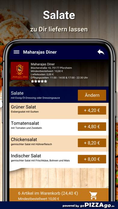 Maharajas Diner Pforzheim screenshot 5