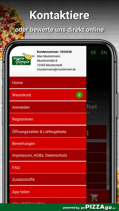 Pizzeria Giorgio Egelsbach screenshot 3