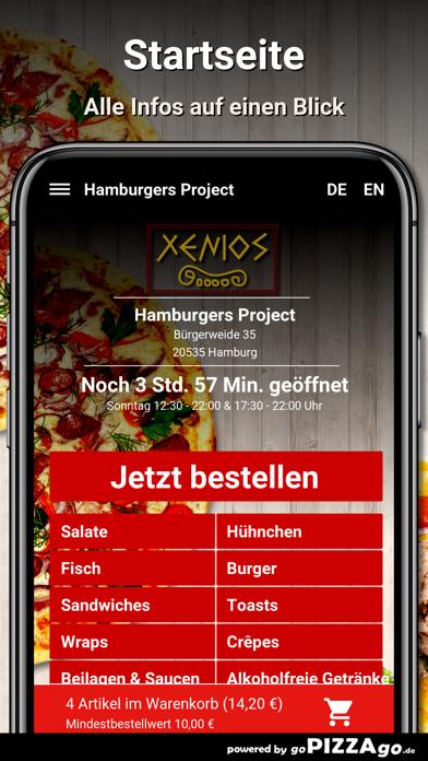 Hamburgers Project Hamburg screenshot 2