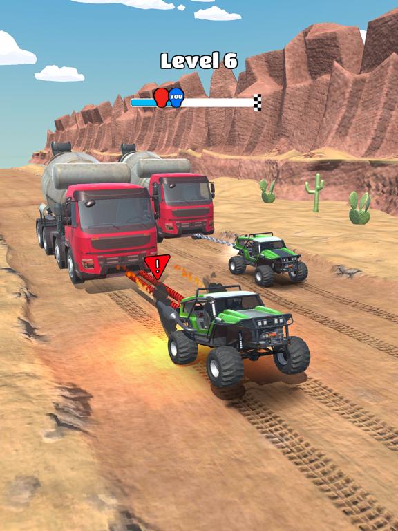 iPad Image of Towing Race