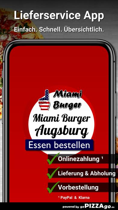Miami-Burger Augsburg screenshot 1
