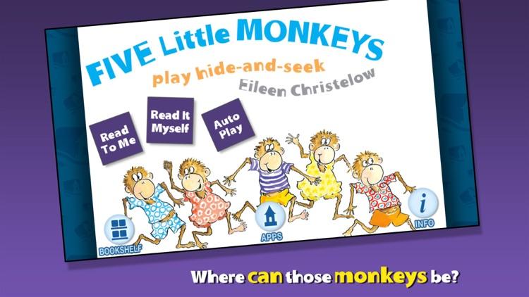 5 Monkeys Play Hide and Seek