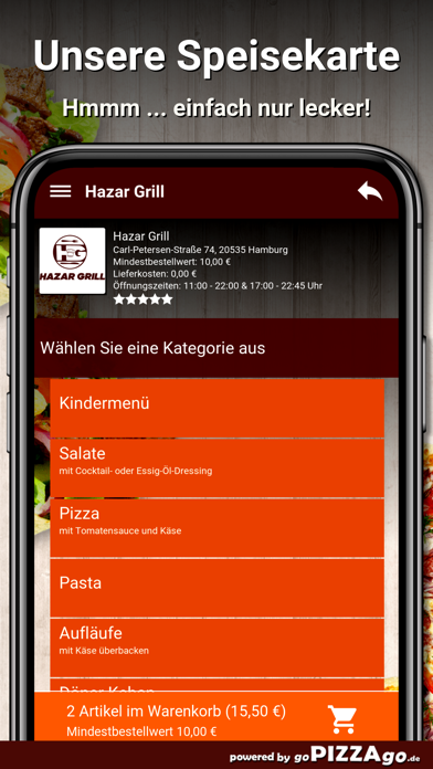 Hazar Grill Hamburg screenshot 4