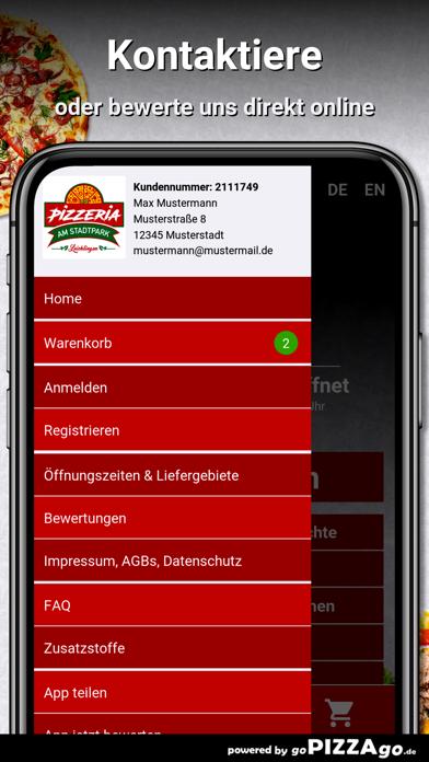Pizzeria Stadtpark Leichlingen screenshot 3