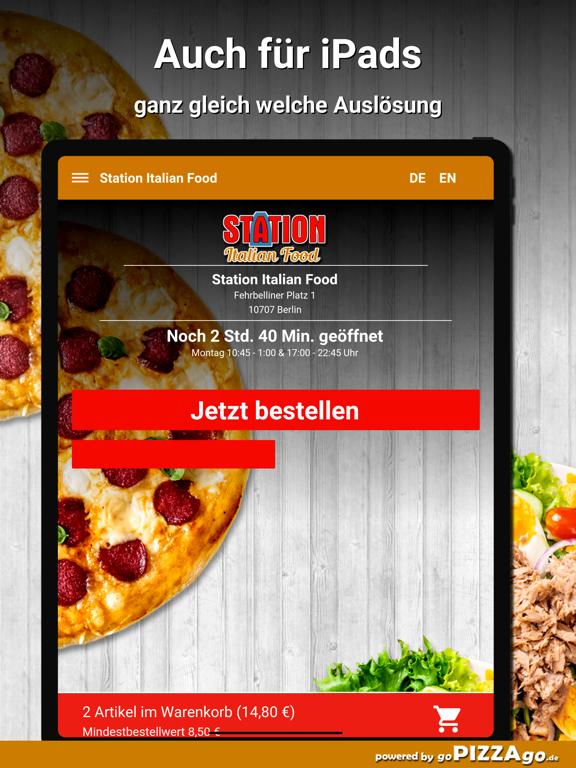Station Italian Food Berlin screenshot 7