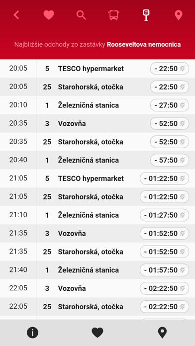 MHD Banská Bystrica screenshot 5