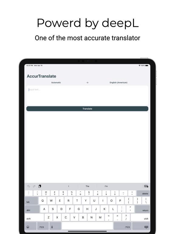 AccurTranslator screenshot 4