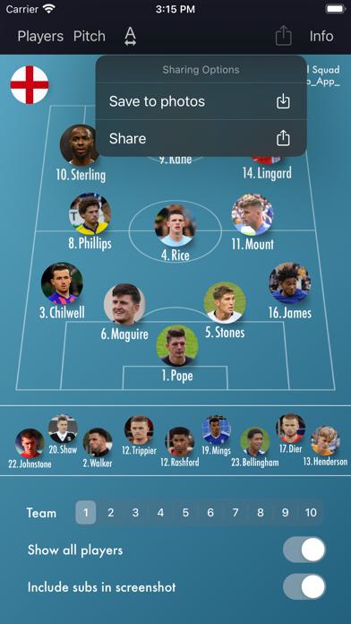 Lineup - Football Squadのおすすめ画像7