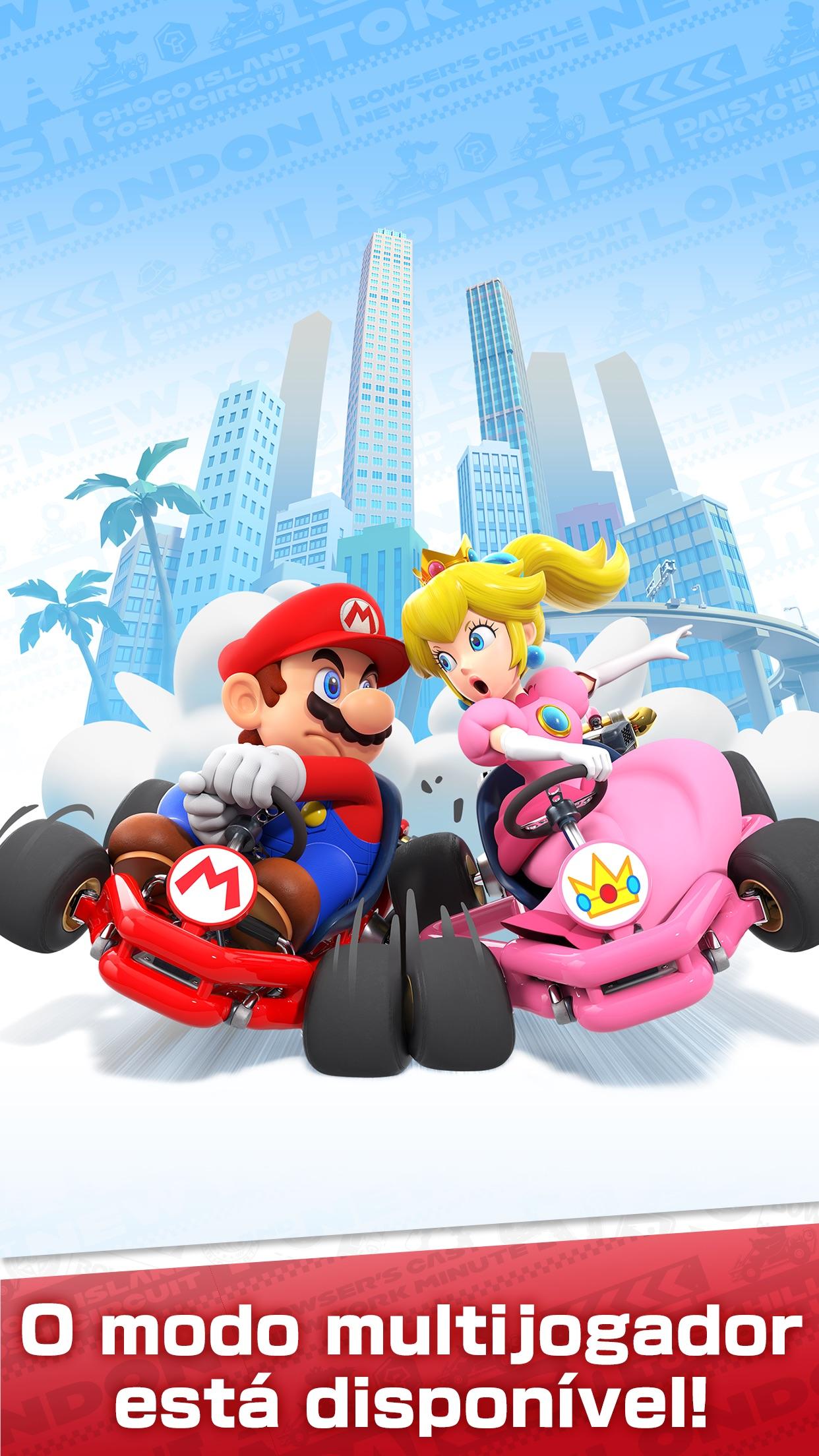 Screenshot do app Mario Kart Tour