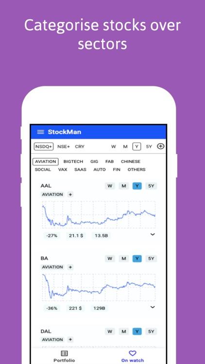 StockMan - Stocks & Crypto screenshot-4