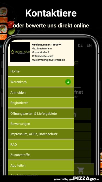 Asia Choice Köln screenshot 3