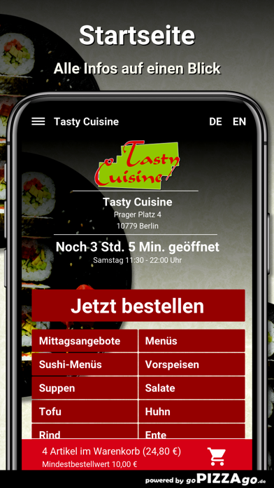 Tasty Cuisine Berlin screenshot 2