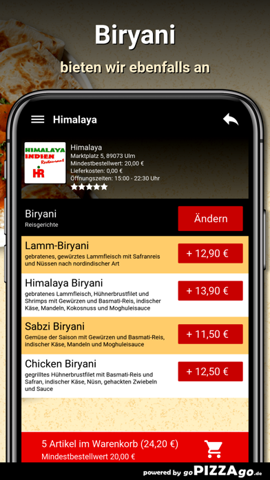 Himalaya Ulm screenshot 6