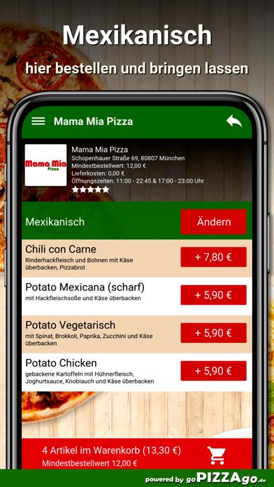 Mama Mia Pizza München screenshot 6