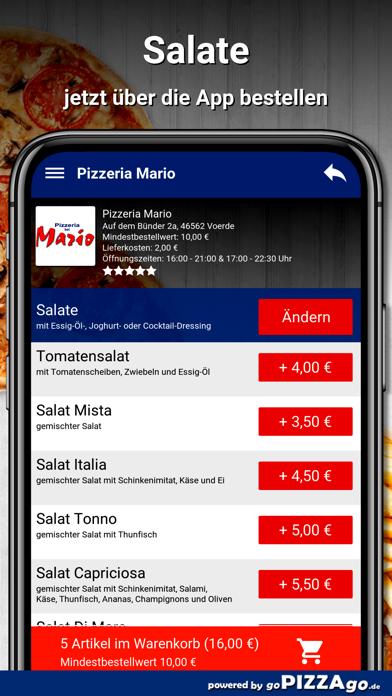 Pizzeria Mario Voerde screenshot 5