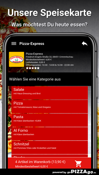 Pizza-Express Crimmitschau screenshot 4