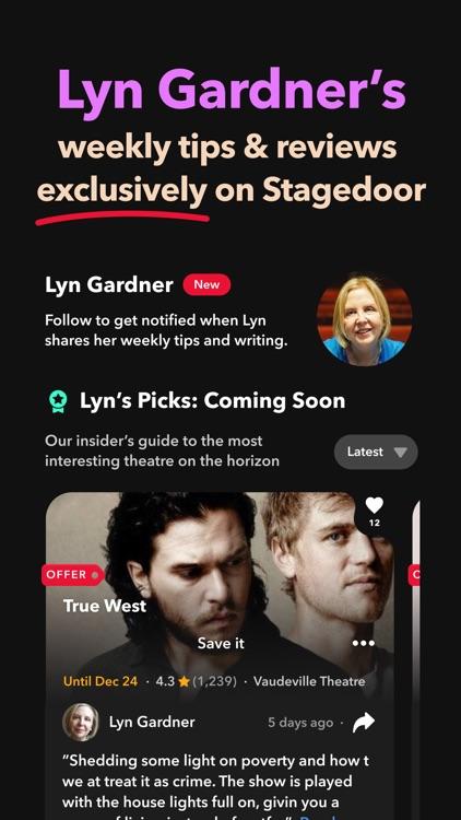 Stagedoor: London theatre