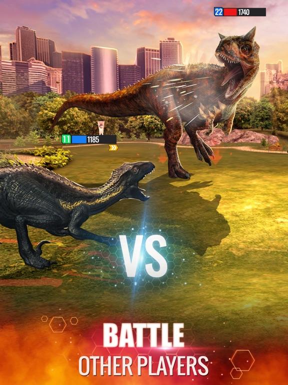 Jurassic World Alive iPad app afbeelding 3
