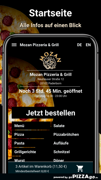 Mozan Paderborn screenshot 2