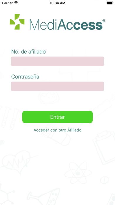 Afiliados MediAccess screenshot 5