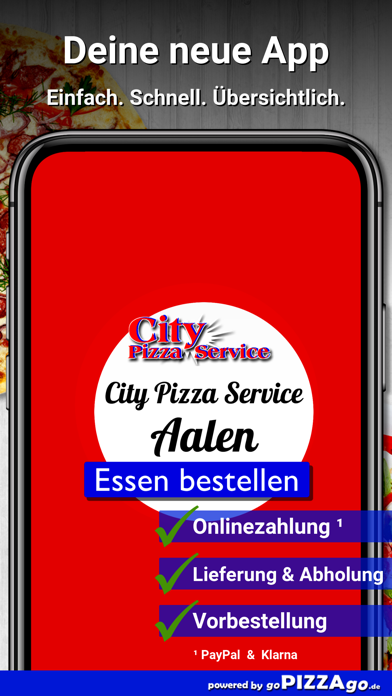 City Pizza Service Aalen screenshot 1
