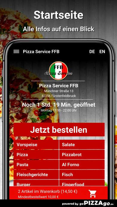 Pizza Service FFB Fürstenfeldb screenshot 2