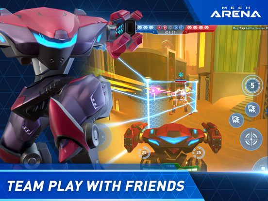 Mech Arena: Robot Showdown iPad app afbeelding 3