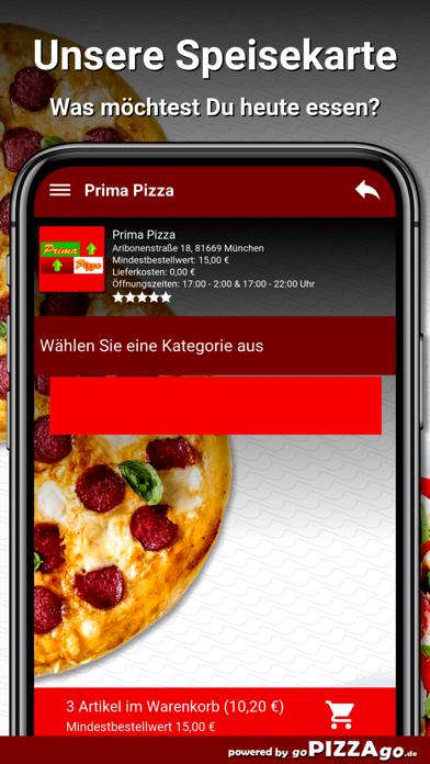 Prima Pizza München screenshot 4
