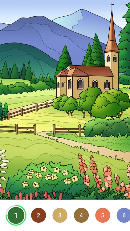 Bible Color - Paint by Number screenshot-3