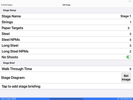 PractiScore screenshot