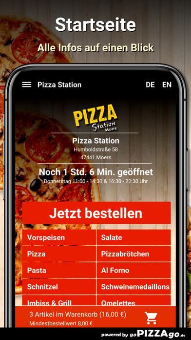 Pizza Station Moers screenshot 2