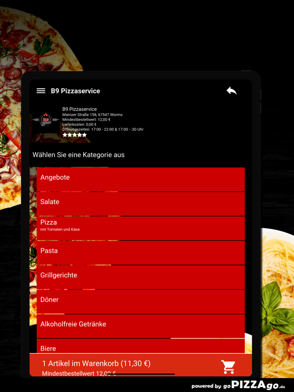 B9 Pizzaservice Worms screenshot 8