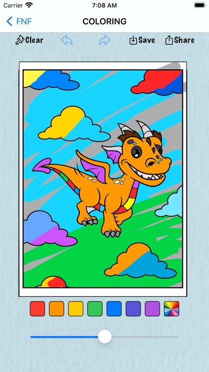 Coloring Book for Friday Music screenshot-6