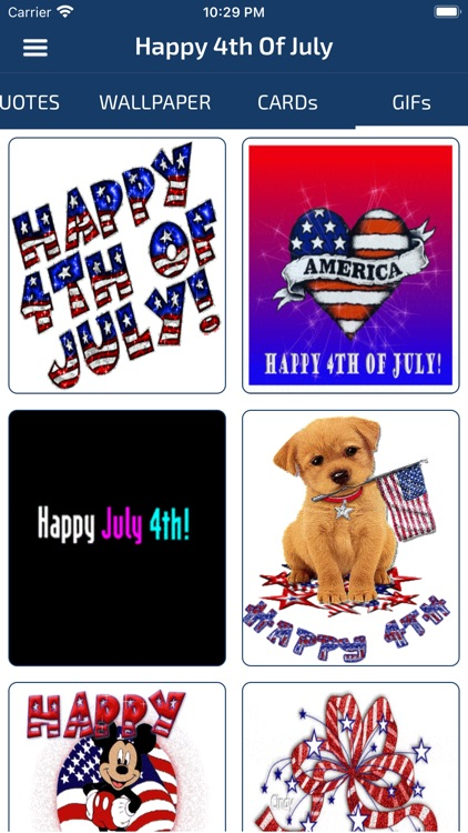 4th Of July Cards & Wallpapers screenshot-3