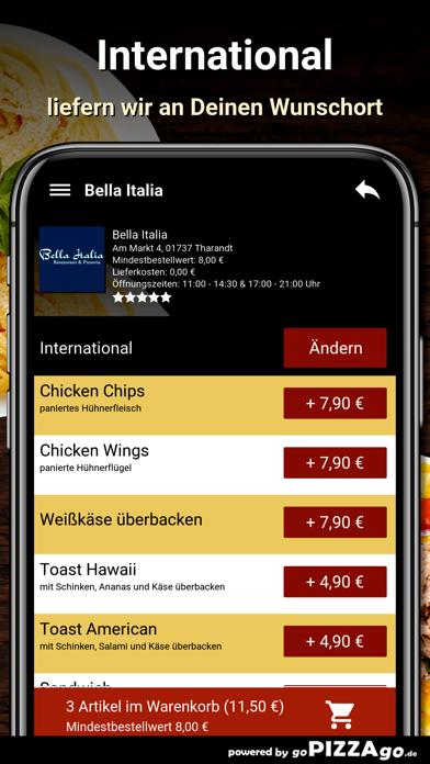 Bella Italia Tharandt screenshot 6